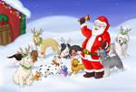 Reindeer dogs by UrsusArctos