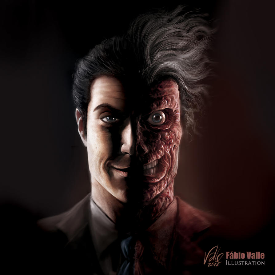 Harvey Dent by Fabvalle