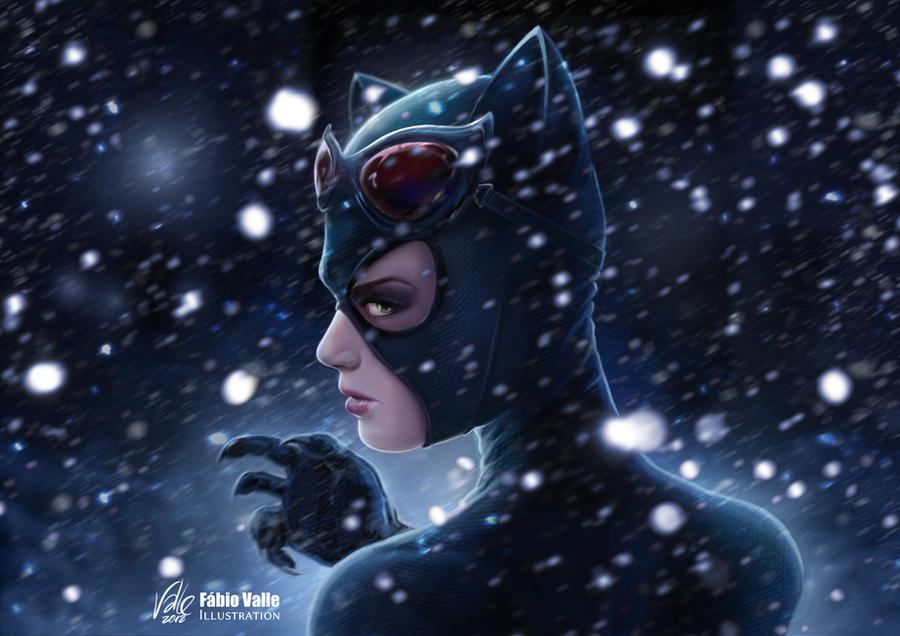 Catwoman by Fabvalle