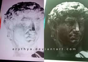 David - Inverted Drawing