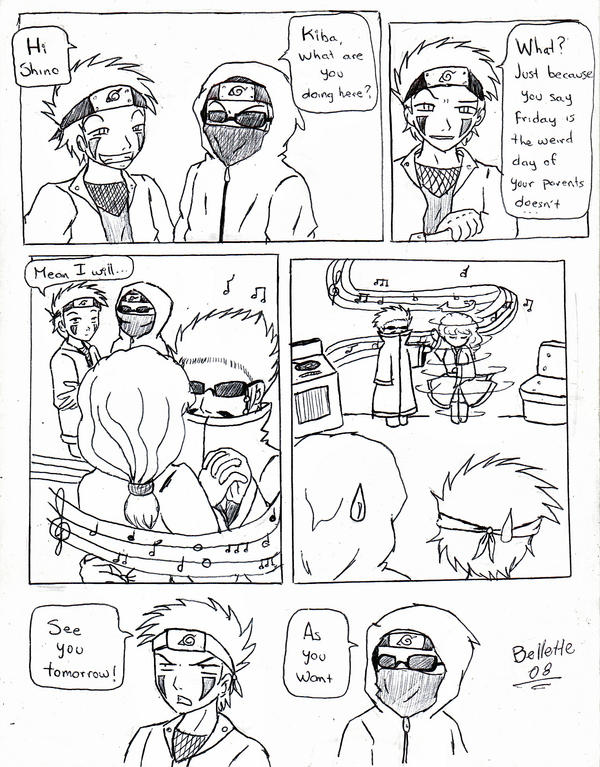 Naruto: Weird friday by Bellette