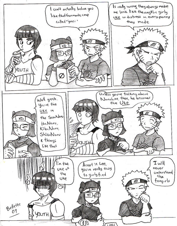 Naruto: The 'Uke' factor by Bellette