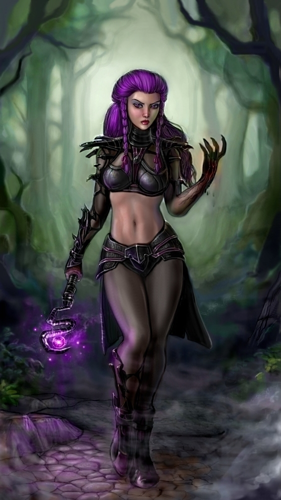 Purple Murk by SirTiefling