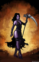 Mistress of Shadow by SirTiefling