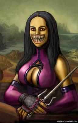 Mileena Smile