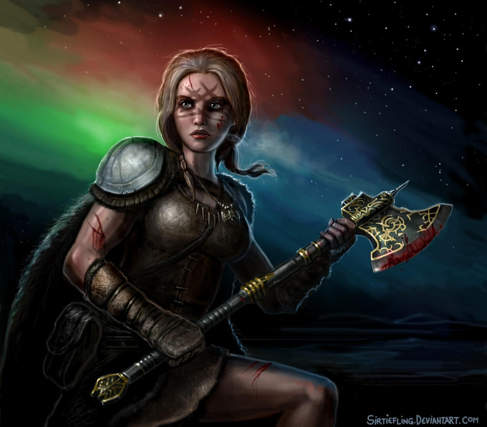 The Northern Lights by SirTiefling