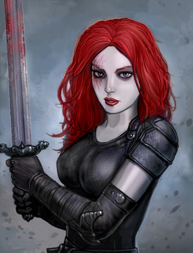 Red As Blood by SirTiefling