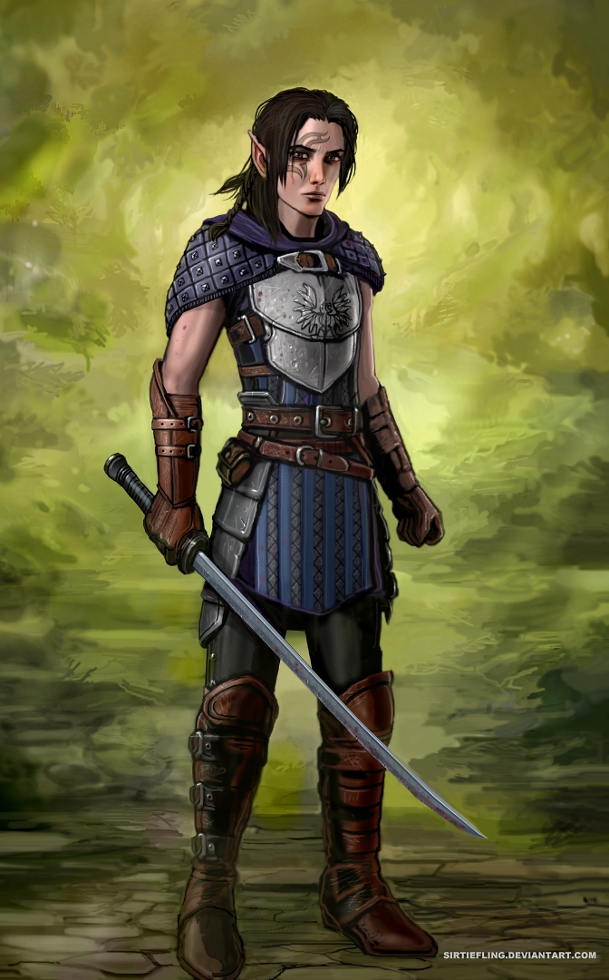 Grey Warden by SirTiefling