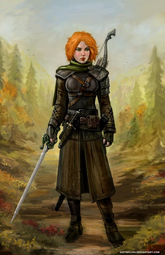 Autumn Ranger by SirTiefling
