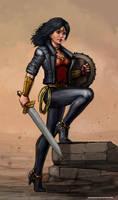 Wonder Woman 2014AD by SirTiefling