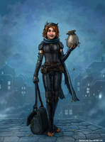 Halfling Thief by SirTiefling