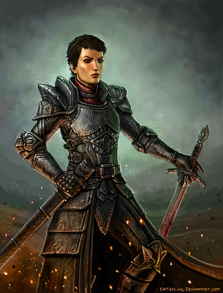 Dragon Age - Cassandra by SirTiefling