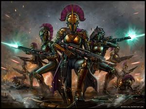 The Purple Squad Advances