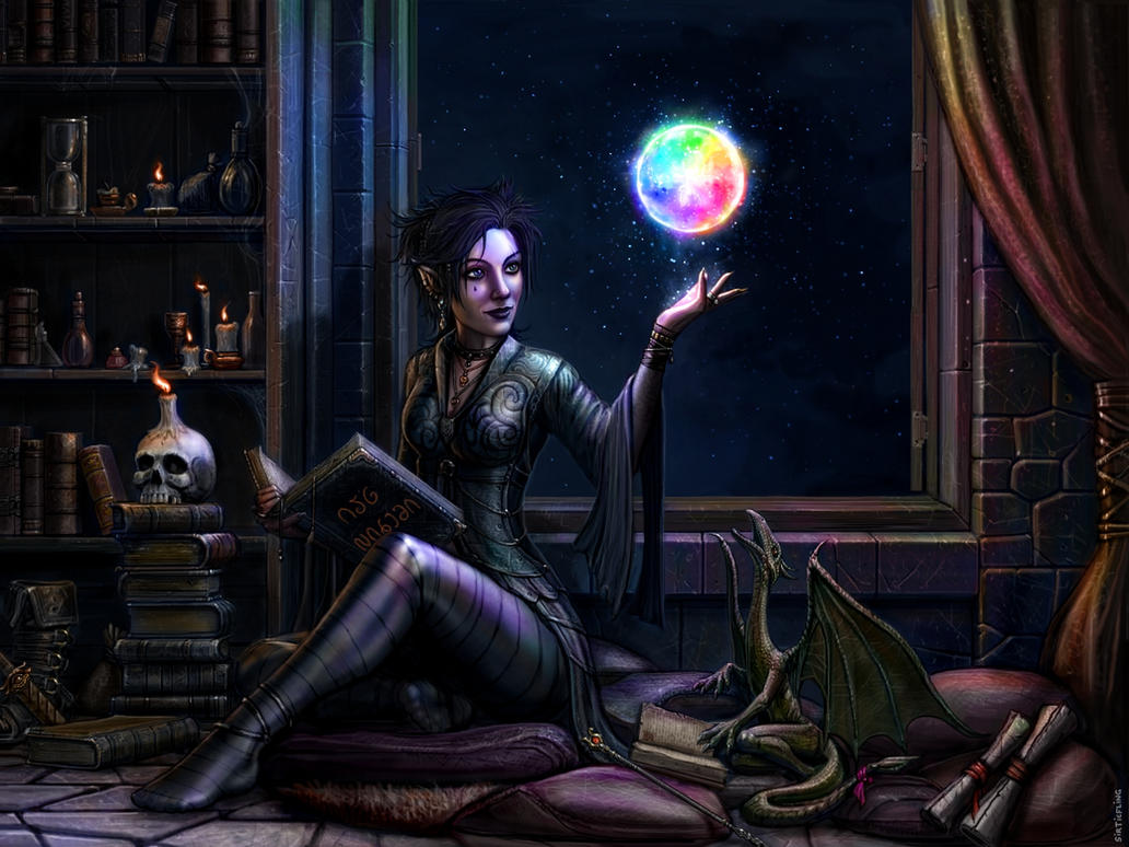 The Chromatic Orb by SirTiefling