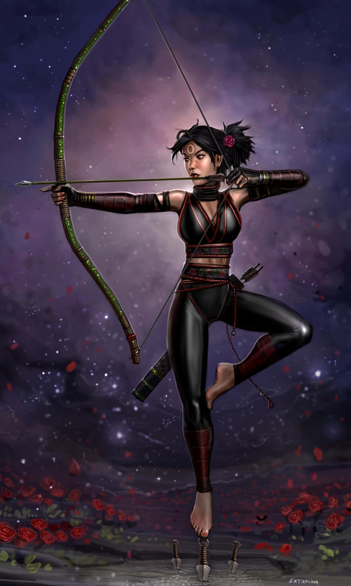 The Exalted Kunoichi by SirTiefling