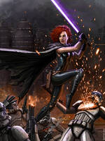 Legend of Mara Jade by SirTiefling