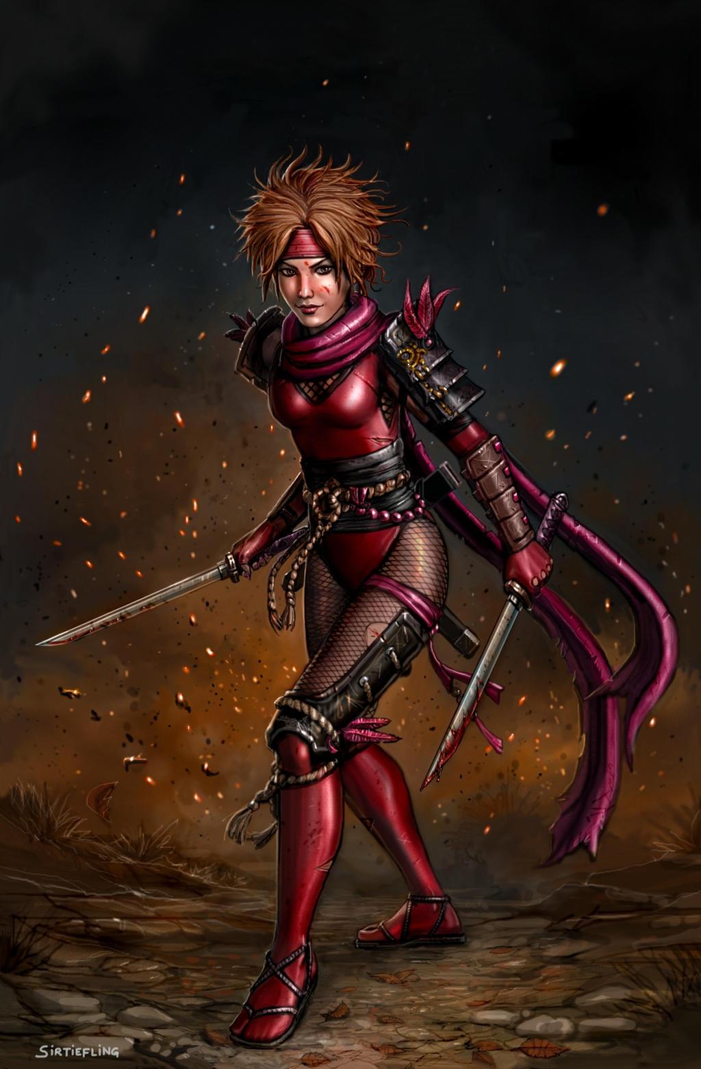 natsu the vexatious ninja by sirtiefling on deviantart