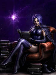 Raven Disturbed by SirTiefling