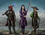Edgy Heroes of Eberron