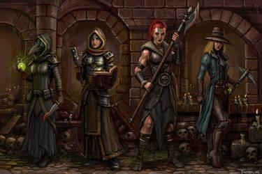 Darkest Dungeon - The Valkyries