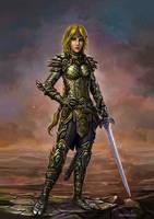 Eladrin Warrior Princess by SirTiefling