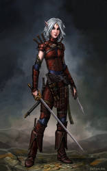 Merisiel the Rogue by SirTiefling