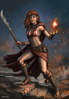 Sexy Elf Pyromancer?