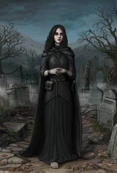 Cemetery Fan No.1