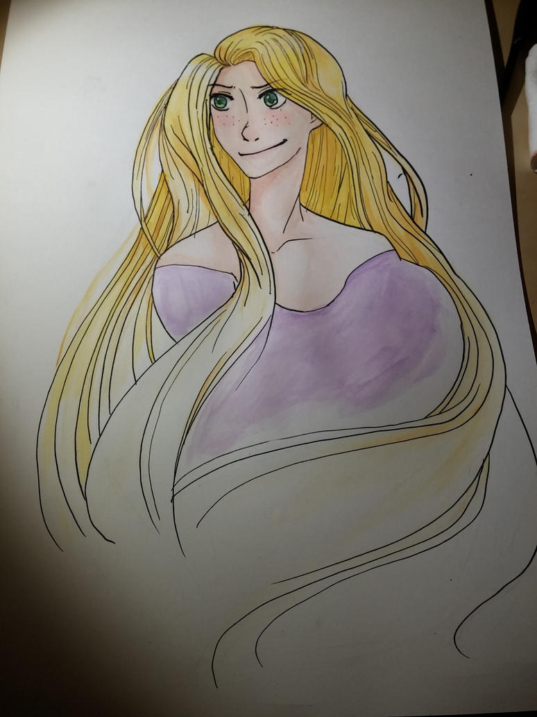 Rapunzel by coifonii