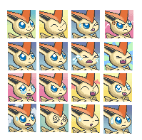 Victini Expressions by PokemonDoctor100