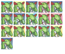 Kirlia Expressions