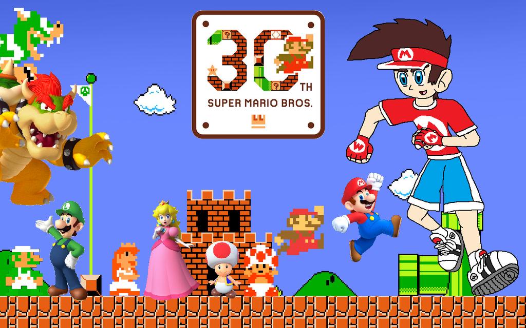 Happy th anniversary super mario bros by