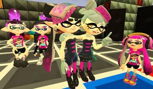Splatoon: Squid Sisters You're my Number One