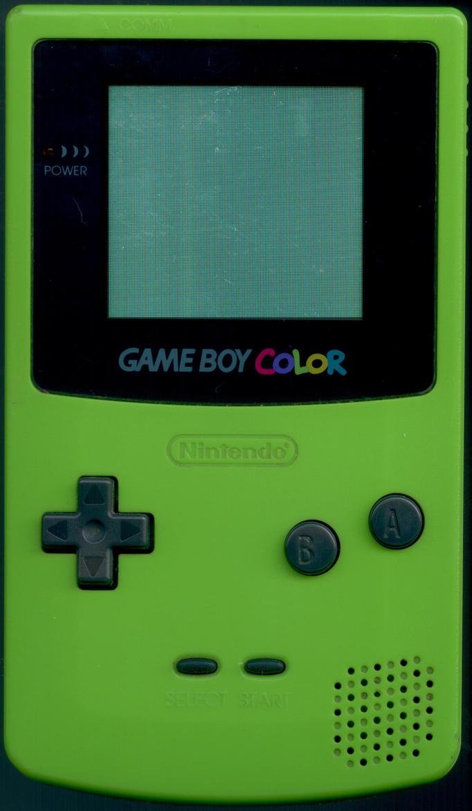 Kiwi Gameboy Color by dbodine on DeviantArt