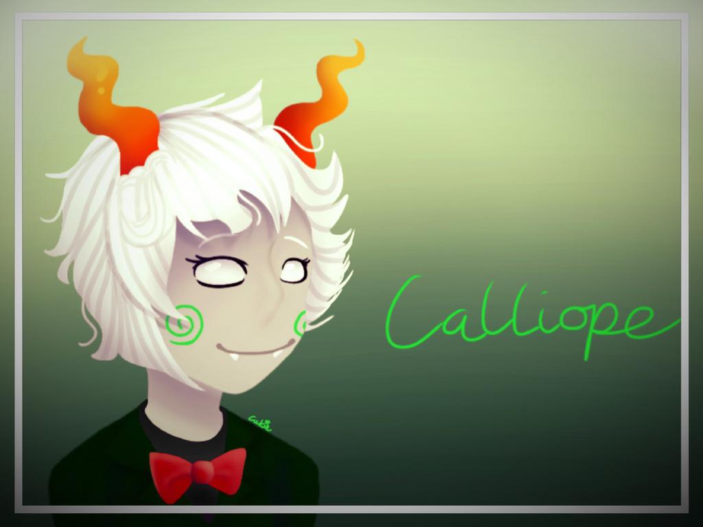 Calliopes Trollsona Homestuck Fanart By Partydance252