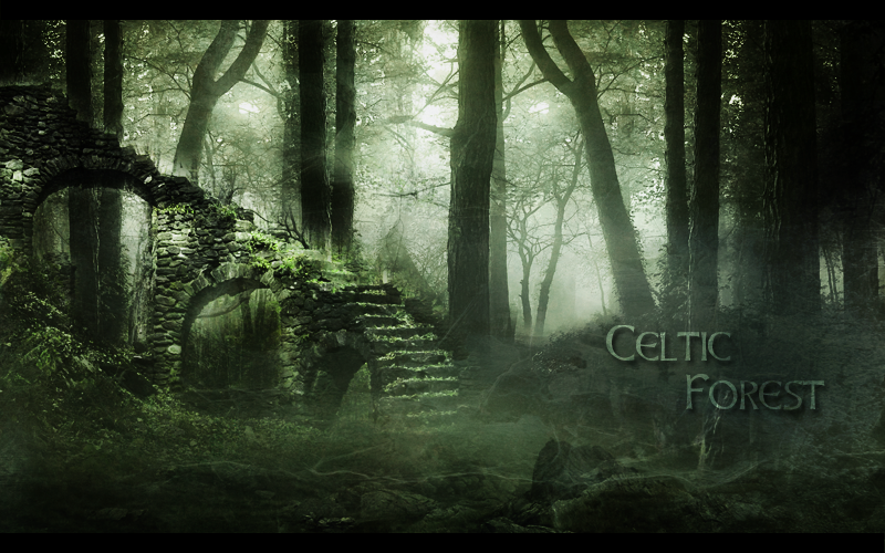 celtic forest by fairling on deviantart