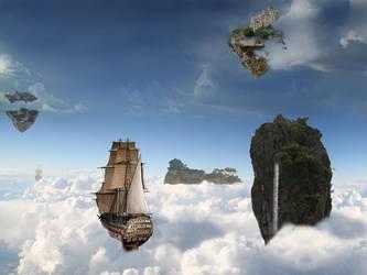 Dans les nuages by Fairling