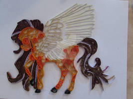 Quilling Horse