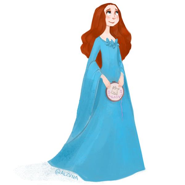 Sansa Stark by zuluyo