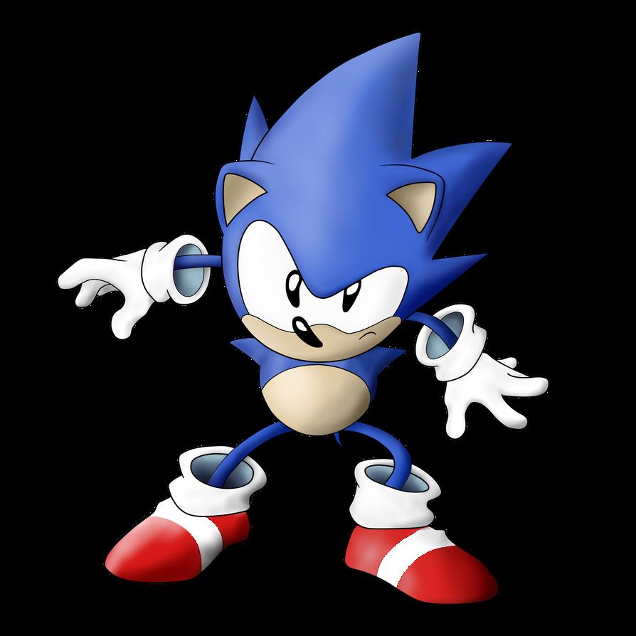 Old Sonic, Sonic CD By C94Felipe On DeviantArt