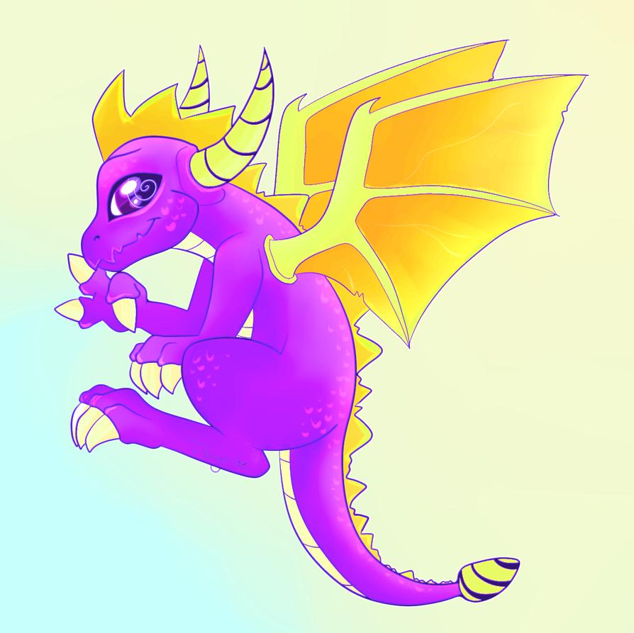 spyro da dragon by Ponycide