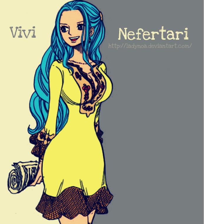 Naruto x One Piece: Character Vivi_nefertari_by_ladynoa-d4ao4ab