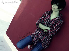Adventure Time Cosplay: Marshall Lee 07 by LadyNoa