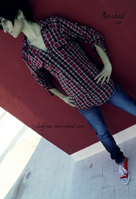 Adventure Time Cosplay: Marshall Lee 08 by LadyNoa