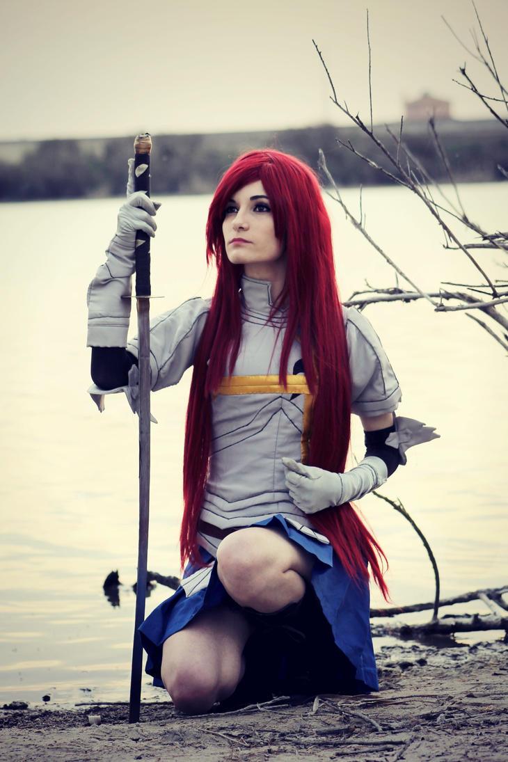 Erza Scarlet by LadyNoa