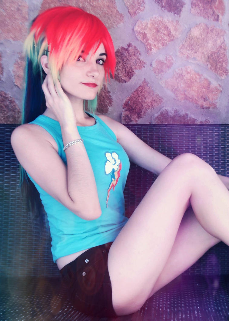 Rainbow dash Cosplay [5] by LadyNoa