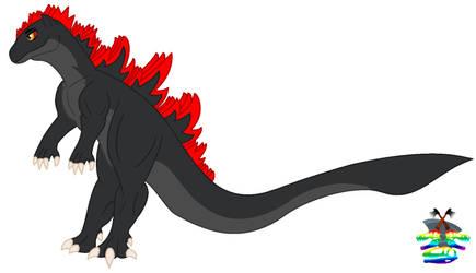 My Monsterverse and fake kaiju art 1 my godzilla o