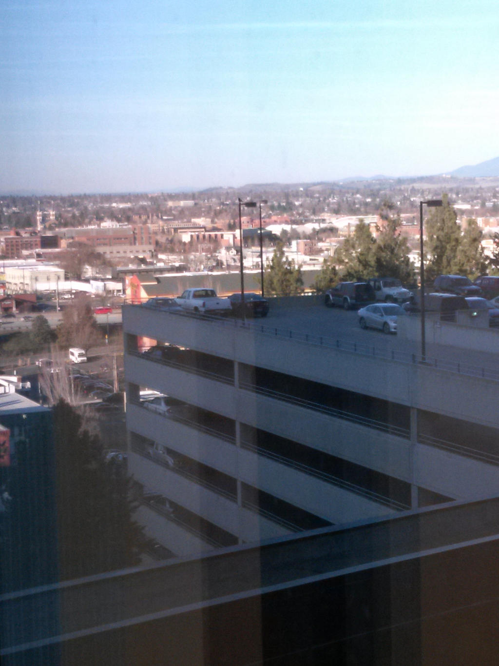 view from Dr.s office by KarmicCircle