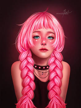 Pink | Speed paint link :)