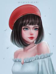 Stylized Portrait DS#22